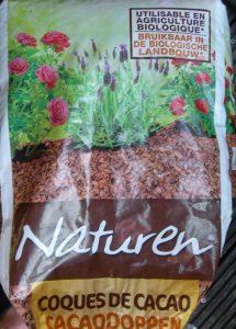 sac de coques de cacao